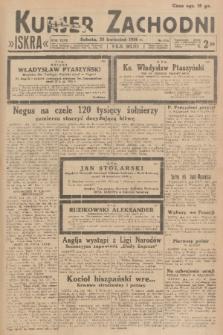 Kurjer Zachodni Iskra. R.27, 1936, nr113