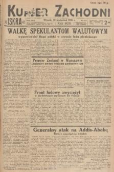 Kurjer Zachodni Iskra. R.27, 1936, nr116
