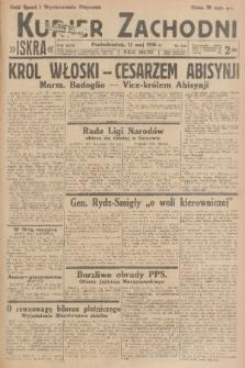 Kurjer Zachodni Iskra. R.27, 1936, nr129
