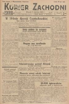Kurjer Zachodni Iskra. R.27, 1936, nr149