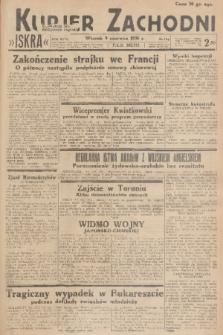 Kurjer Zachodni Iskra. R.27, 1936, nr156