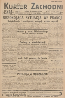 Kurjer Zachodni Iskra. R.27, 1936, nr160