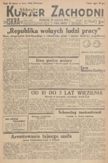 Kurjer Zachodni Iskra. R.27, 1936, nr168