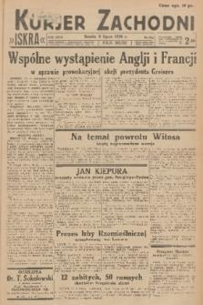 Kurjer Zachodni Iskra. R.27, 1936, nr184