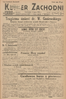 Kurjer Zachodni Iskra. R.27, 1936, nr185 + dod.