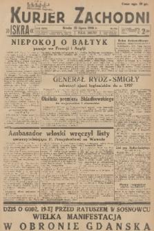 Kurjer Zachodni Iskra. R.27, 1936, nr198