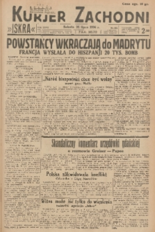 Kurjer Zachodni Iskra. R.27, 1936, nr201