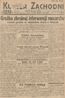 Kurjer Zachodni Iskra. R.27, 1936, nr204