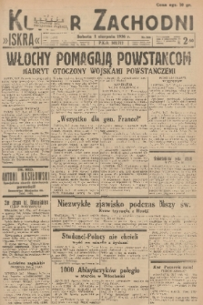 Kurjer Zachodni Iskra. R.27, 1936, nr208