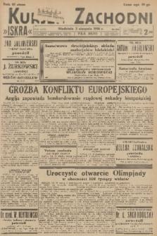 Kurjer Zachodni Iskra. R.27, 1936, nr209