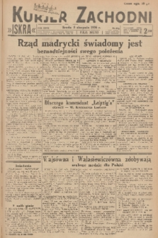 Kurjer Zachodni Iskra. R.27, 1936, nr212