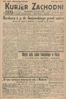 Kurjer Zachodni Iskra. R.27, 1936, nr217