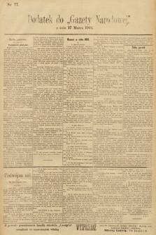 Gazeta Narodowa. 1901, nr77