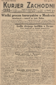 Kurjer Zachodni Iskra. R.27, 1936, nr227 + dod.