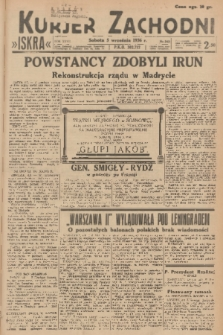 Kurjer Zachodni Iskra. R.27, 1936, nr242