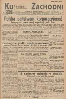 Kurjer Zachodni Iskra. R.27, 1936, nr252