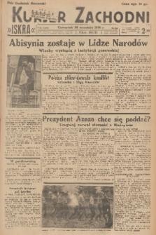 Kurjer Zachodni Iskra. R.27, 1936, nr261 + dod.