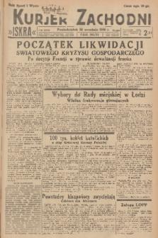 Kurjer Zachodni Iskra. R.27, 1936, nr265