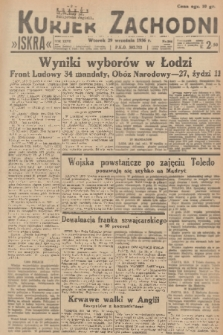 Kurjer Zachodni Iskra. R.27, 1936, nr266