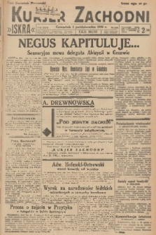 Kurjer Zachodni Iskra. R.27, 1936, nr268 + dod.