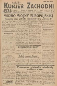 Kurjer Zachodni Iskra. R.27, 1936, nr322
