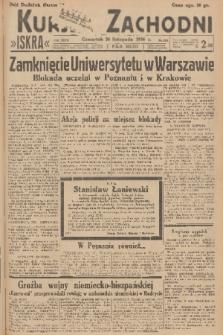 Kurjer Zachodni Iskra. R.27, 1936, nr324 + dod.