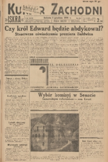Kurjer Zachodni Iskra. R.27, 1936, nr333