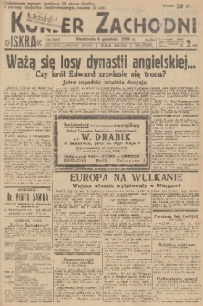 Kurjer Zachodni Iskra. R.27, 1936, nr334