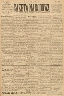 Gazeta Narodowa. 1901, nr84 i85