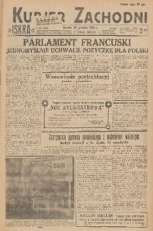 Kurjer Zachodni Iskra. R.27, 1936, nr355