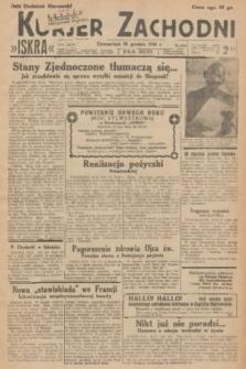 Kurjer Zachodni Iskra. R.27, 1936, nr356 + dod.