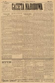 Gazeta Narodowa. 1901, nr107