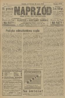 Naprzód : organ Polskiej Partji Socjalistycznej. 1925, nr75