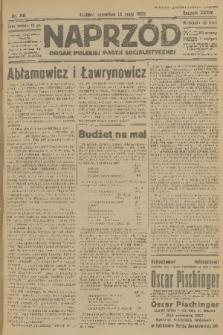Naprzód : organ Polskiej Partji Socjalistycznej. 1925, nr110