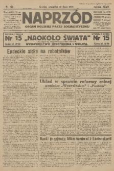 Naprzód : organ Polskiej Partji Socjalistycznej. 1925, nr160