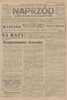 Naprzód : organ Polskiej Partji Socjalistycznej. 1925, nr229