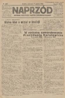 Naprzód : organ Polskiej Partji Socjalistycznej. 1925, nr290