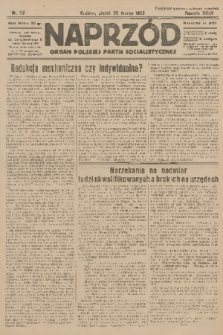 Naprzód : organ Polskiej Partji Socjalistycznej. 1926, nr70