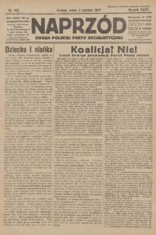 Naprzód : organ Polskiej Partji Socjalistycznej. 1927, nr176