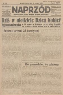 Naprzód : organ Polskiej Partji Socjalistycznej. 1928, nr138