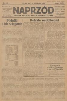 Naprzód : organ Polskiej Partji Socjalistycznej. 1928, nr233