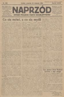 Naprzód : organ Polskiej Partji Socjalistycznej. 1928, nr269