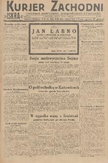 Kurjer Zachodni Iskra : dziennik polityczny, gospodarczy i literacki. R.21, 1930, nr104
