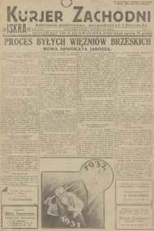Kurjer Zachodni Iskra : dziennik polityczny, gospodarczy i literacki. R.23, 1932, nr1