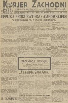 Kurjer Zachodni Iskra : dziennik polityczny, gospodarczy i literacki. R.23, 1932, nr3
