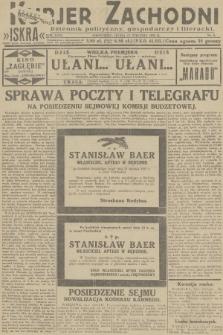 Kurjer Zachodni Iskra : dziennik polityczny, gospodarczy i literacki. R.23, 1932, nr9