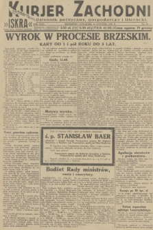 Kurjer Zachodni Iskra : dziennik polityczny, gospodarczy i literacki. R.23, 1932, nr10
