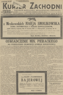 Kurjer Zachodni Iskra : dziennik polityczny, gospodarczy i literacki. R.23, 1932, nr13 [po konfiskacie]