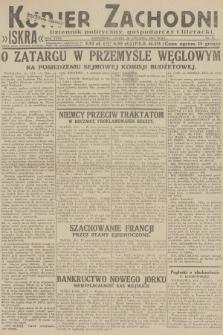 Kurjer Zachodni Iskra : dziennik polityczny, gospodarczy i literacki. R.23, 1932, nr15