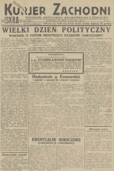 Kurjer Zachodni Iskra : dziennik polityczny, gospodarczy i literacki. R.23, 1932, nr16